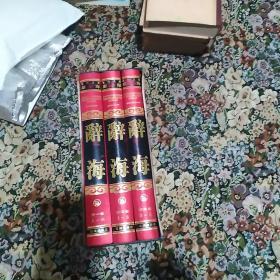 现代汉语 辞海(最新修订版)全三卷