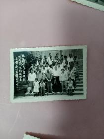 老照片(1965年杭一棉电气工厂欢送高阿法同志光荣退休老照片)