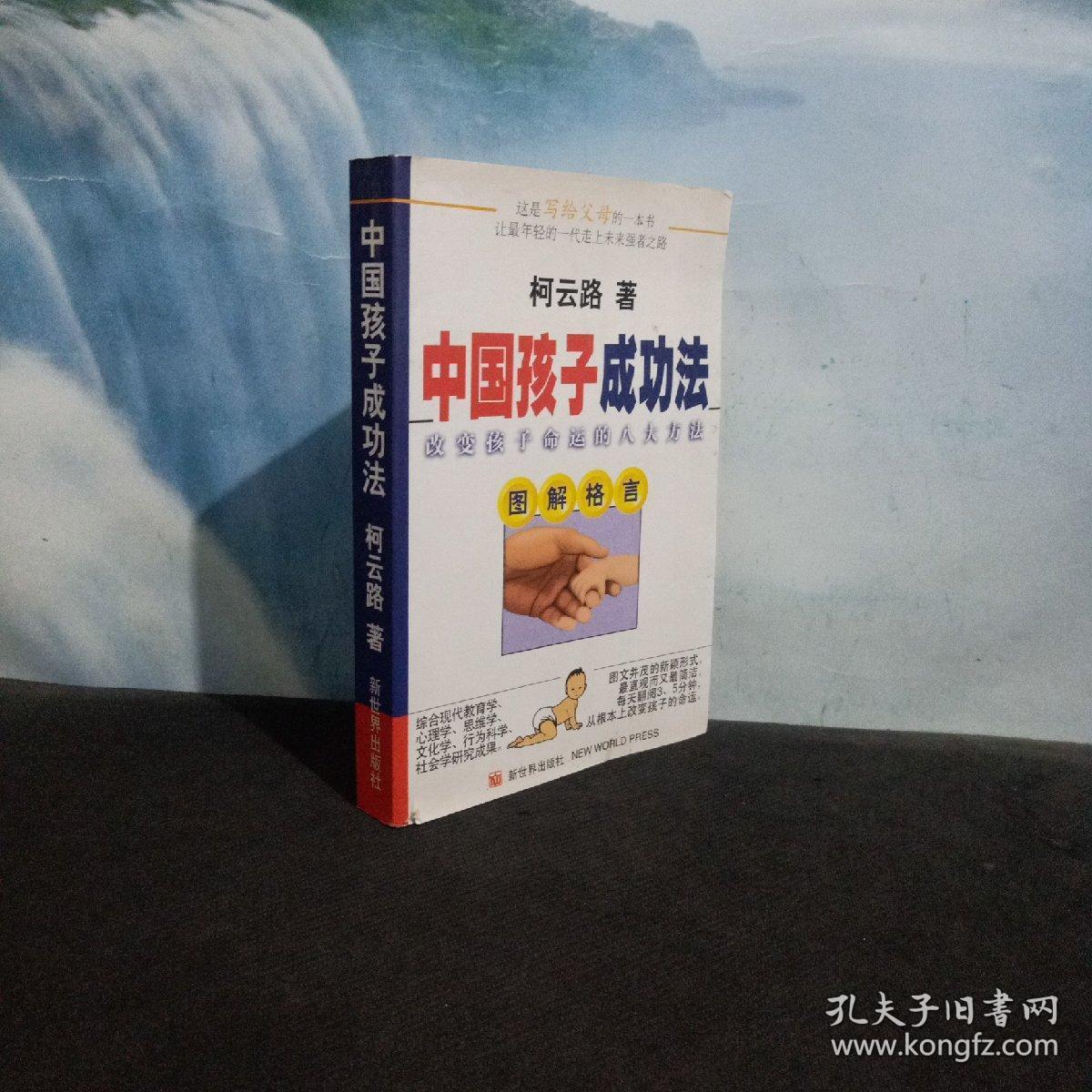 中国孩子成功法:改变孩子命运的八大方法:图解格言  一版一印