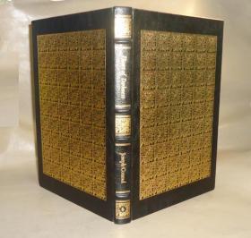 1980年 Joseph Conrad - Heart of Darkness 约瑟夫•康拉德经典杰作《黑暗的心》全小牛皮双面满堂烫金精装全彩图善本 品上佳 增补插图