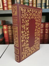 Wuthering Heights 《呼啸山庄》 艾米丽 勃朗特 emily bronte 名著 Franklin Library 1975年真皮精装收藏版,世界永恒经典100本名著系列丛书之一