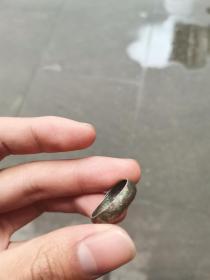 清代老银戒指