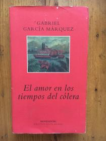 《霍乱时期的爱情》加西亚·马尔克斯 【西班牙语原版】