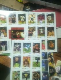 体育明星卡  1999年红星纵队 3张