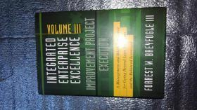 Integrated Enterprise Excellence  Volume III-Improvement Project Execution