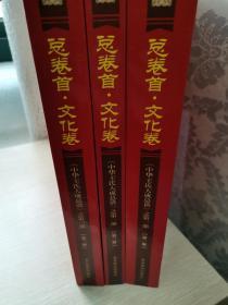 《中华王氏大成总谱》之第一部总卷首.文化卷(全三册卷一~卷二十二)
