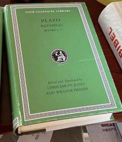 海外发货 [希腊文英文对照] Republic Books 1-5 (Loeb Classical Library)柏拉图:理想国(第1-5卷)(洛布丛书)
