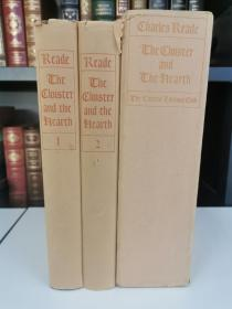 The Cloister and The Hearth-- A tale of the middle age, introduction by hendrik willen van loon《回廊与壁炉》charles reade 里德 名著  LEC 1932年 出版 布面精装 全两卷 限量1500套 编号910