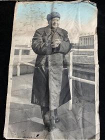 毛主席军大衣的笑眯眯,丝织画