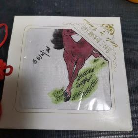 高级工艺刺绣手帕