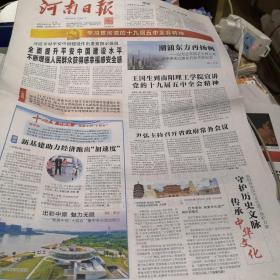 河南日报2020年11月12日
