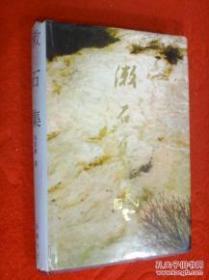 潄石集 大32开本  精装本(红学专家冯其庸的作品,前有8张彩色照片)1993年一版一印