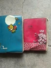 80年代日记本2本合售如图