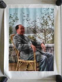 1968年辽宁美术出版社出版好品年画-毛主席万岁!万岁!万万岁!