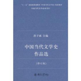 中国当代文学史作品选  洪子诚