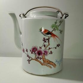 岁月浸染之美◆民俗精美图案瓷茶壶之七