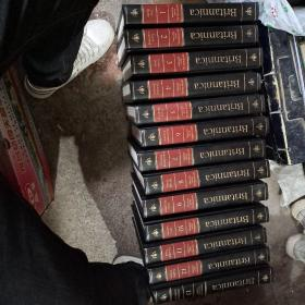 Encyclopaedia Britannica (大不列颠百科全书英文原版 Knowledge in Depth第1-13卷 13卷合售金顶