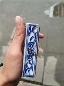 清代瓷砚盒
