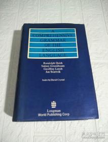 外文书店库存全新 无瑕疵 未使用过 带护封  A Comprehensive Grammar of the English Language