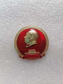 毛主席像章(为人民立新功、向解放军学习、向解放军致敬)