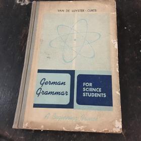GERMAN GRAMMAR for Science Students
