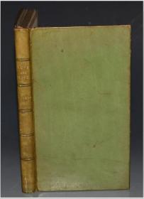 1902年 H.B. Dowson - Love and Life  道森散文诗经典 《爱情与生命》极珍贵初版本 名坊Bumpus翠绿色小牛犊皮精装 大画家G.F. Watts绝美原品石版画 品相绝佳 送礼佳品