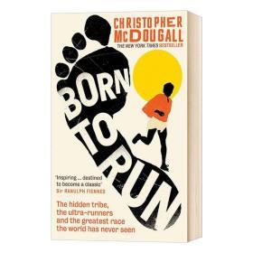 天生就会跑 Born to Run 克里斯托弗麦克杜格尔 跑步方法 英文版 跑步运动健身书 进口原版英语书籍 英文原版