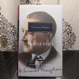 W. Somerset Maugham  Collected Stories 毛姆短篇小说集 everyman's library 人人文库 英文原版 布面封皮琐线装订 丝带标记 内页无酸纸可以保存几百年不泛黄