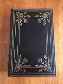 【现货在美国家中、3周左右到国内、全国包顺丰】The Canterbury Tales,《坎特伯雷故事集》, Chaucer / 乔叟 (著),富兰克林图书馆出版的世界永恒经典100本名著系列丛书之一, 1974年限量版 A Limited Edition(请见实物拍摄照片第4、5张版权页),精装,厚册,634页,豪华全真皮封面,三面刷金,珍贵外国文学资料 !
