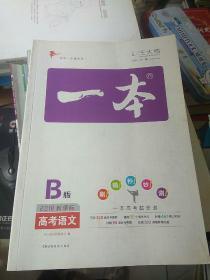 一本B版2018新课标 高考语文