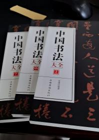 中国书法大全上中下3册初学者学习练习毛笔书法基础教程教学图书