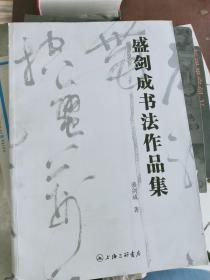 【正版!~】盛剑成书法作品集(精装本)