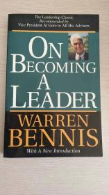 On Becoming a Leader  【英文原版,品相佳】