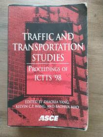 TRAFFIC AND TRANSPORTATION STUDIES,交通和运输研究