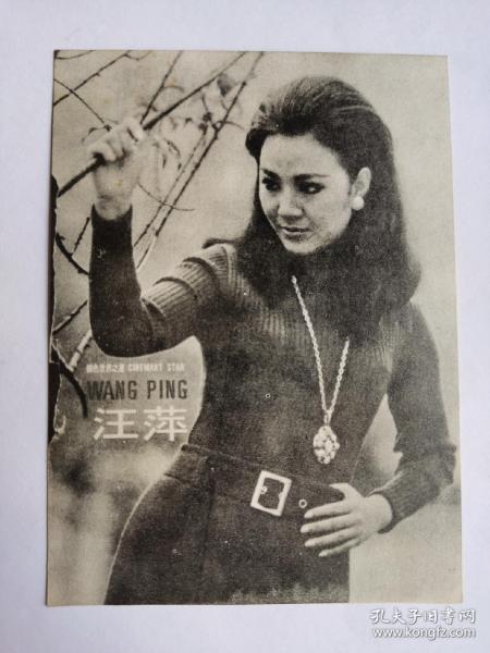 """汪萍,外景照片一张,1950年10月1日出生于台湾,祖籍浙江绍兴,中国香港歌手、演员。1969年,出演首部作品《遗产五亿圆》;1970年,主演张彻执导的《小煞星》,这也是她的成名作品。2003年回台参加第四十届金马奖,与谷峰共同颁发""""最佳视觉特效奖""""、""""最佳改编剧本奖"""""""
