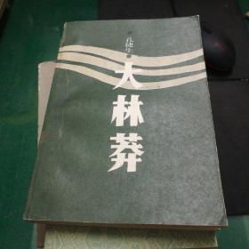 《大林莽》孔捷生著花城出版社大32开397页自序,普通女工,南方的岸