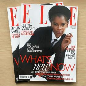 ELLE 2020年11月英国版 女士时尚服饰潮流服装英文杂志