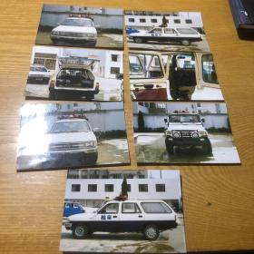 警车老照片7张