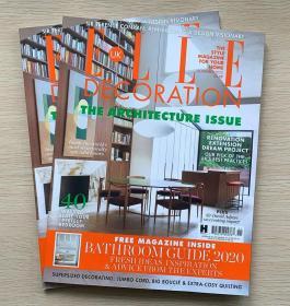 英文 ELLE DECORATION 住宅装饰2020年11月 英国室内装修设计杂志