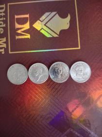 外国硬币菲律宾老版十分四种,全场拍够五十元包邮发货