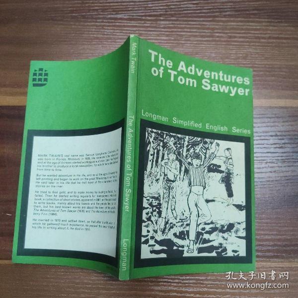 外文原版书-THE ADVENTURES OF TOM SAWYER