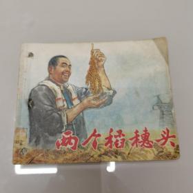 文革连环画: 两个稻穗头