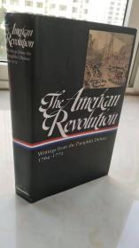 The American Revolution: Writings from the Pamphlet Debate 1764–1772  【精装原版,品相佳】