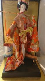 日本艺伎人偶