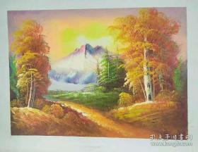张晨燕风景油画作品