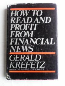 How to Read and Profit from Financial News      英文原版精装