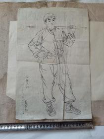名家绘画手稿原稿   曹淑勤    【59张合售】
