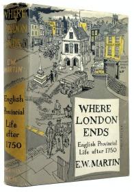 《1750年后,伦敦是如何改变英国的乡村生活的》WHERE LONDON ENDS ENGLISH PROVINCIAL LIFE AFTER 1750