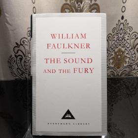 The Sound And The Fury 喧哗与骚动 William Faulkner 福克纳 everyman's library 人人文库 英文原版 布面封皮琐线装订 丝带标记 内页无酸纸可以保存几百年不泛黄