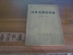 日本当用汉字表